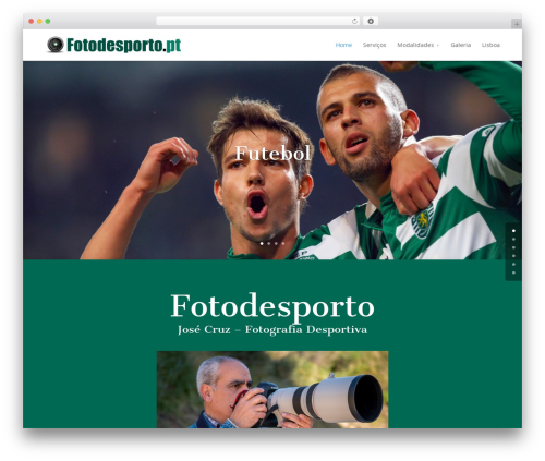 Divi theme WordPress - fotodesporto.pt/jc