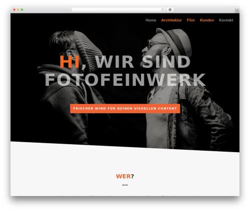 Divi top WordPress theme - fotofeinwerk.de