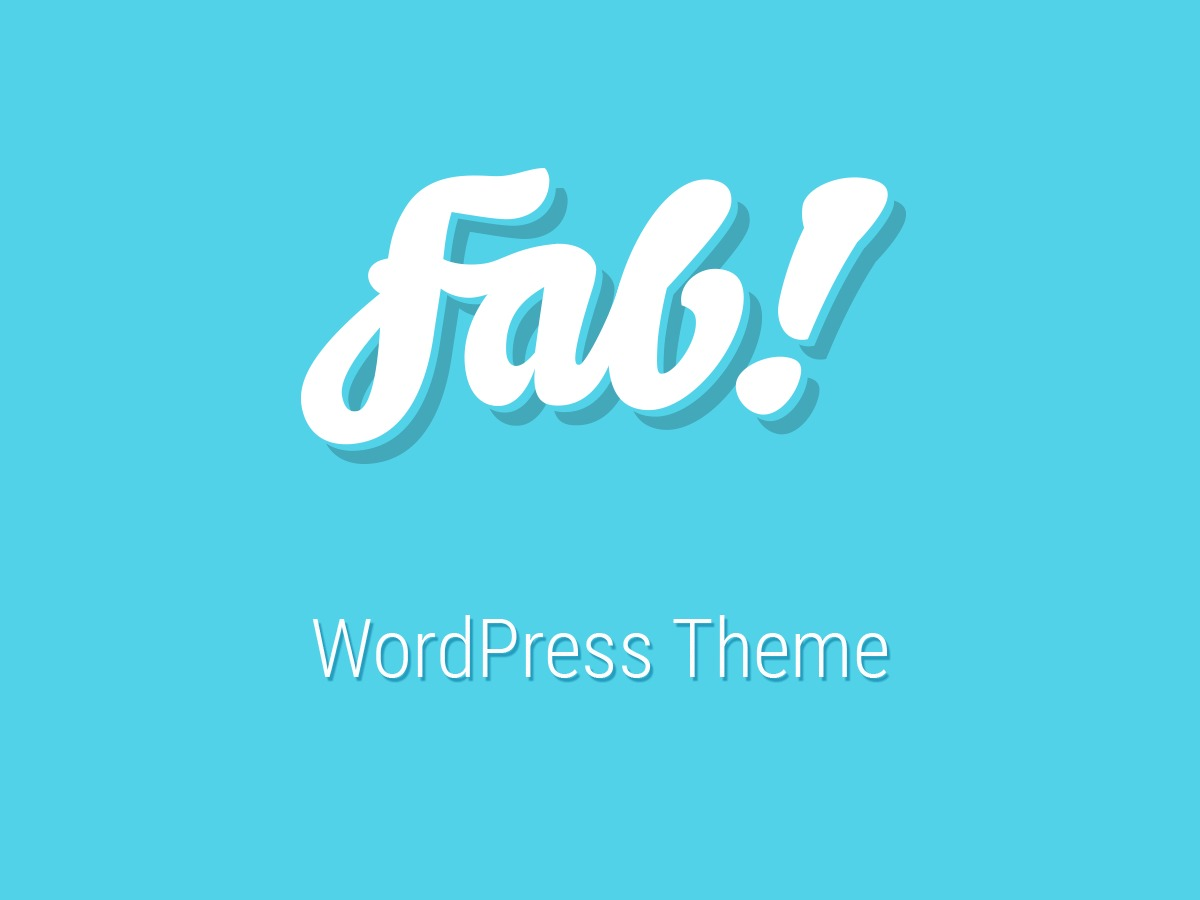 fab template WordPress