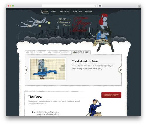 FayeMouse top WordPress theme - faye-mouse.com