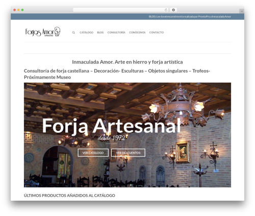 Flatsome top WordPress theme - forjasamor.com