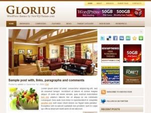 Glorius theme WordPress