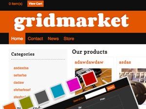 GridMarket template WordPress