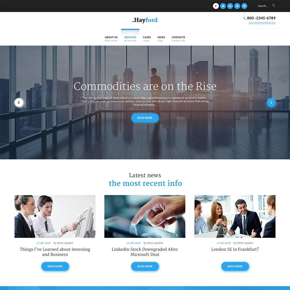 Hayford top WordPress theme