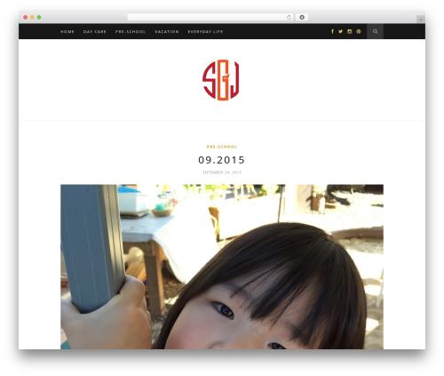 Hemlock WordPress page template - fr33style.com