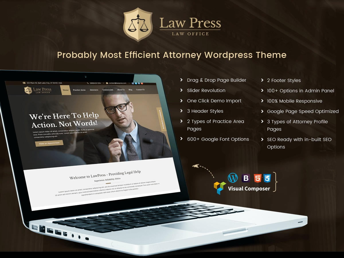 LawPress WordPress theme