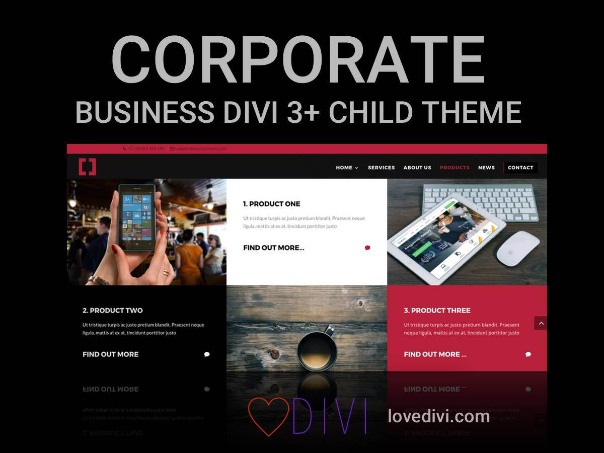 Love Divi premium WordPress theme