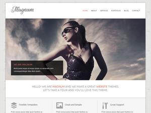 Magnum best portfolio WordPress theme