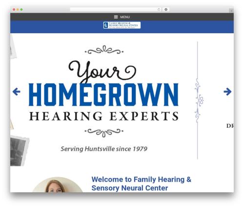 Merriweather theme WordPress - familyhearingcenter.com
