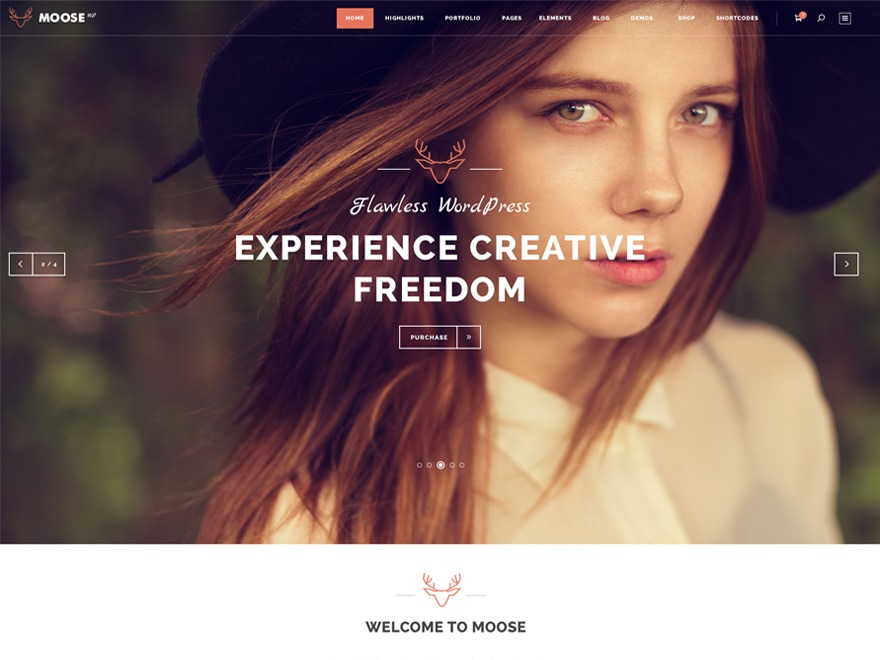 Moose Child WordPress theme
