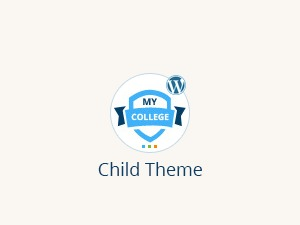 MyCollege Child WordPress theme