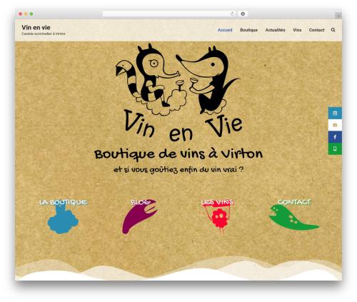 neve theme WordPress - vinenvie.be