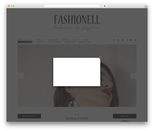 Free WordPress FB Page Promoter Lightbox plugin - fashionellblog.com