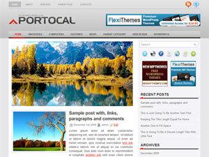 Portocal template WordPress