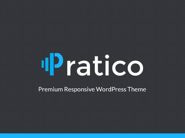 Pratico WordPress blog theme