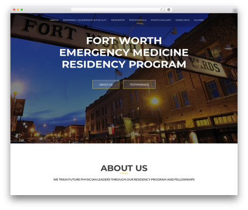 ResponsiveBoat WordPress theme free download - fortworthemr.com
