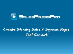 Sales Press Pro WordPress movie theme