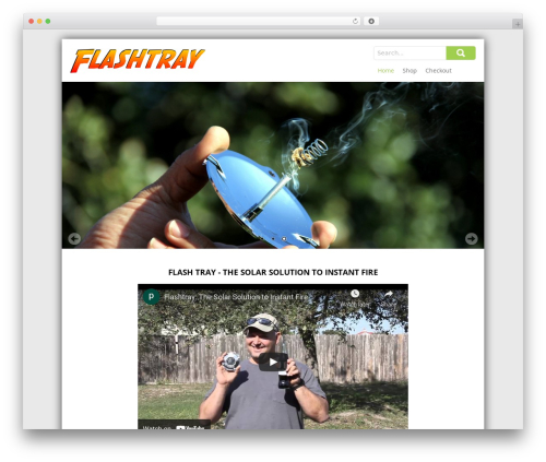 SKT Pathway best free WordPress theme - flashtray.com