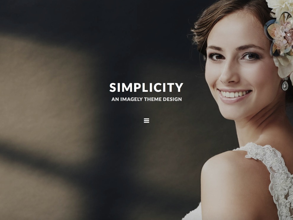 Template WordPress Imagely Simpicity