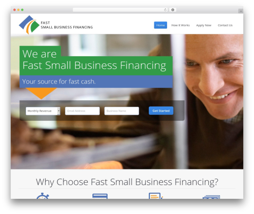 Template WordPress The7 - fastsmallbusinessfinancing.com
