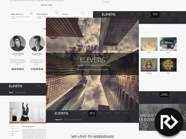 Theme WordPress Elevetis