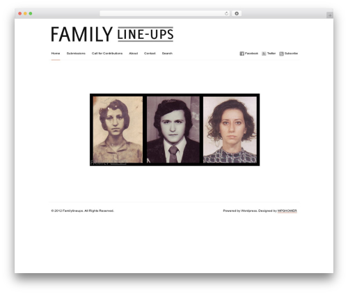 Theme WordPress Imbalance - familylineups.com