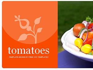 Tomatoes best WordPress template