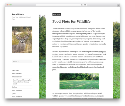 Twenty Fifteen WordPress theme download - foodplots.co
