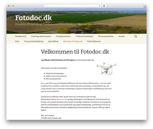 Twenty Thirteen WordPress template free - fotodoc.dk