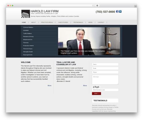 Vertical WP theme - fairfax-arlington-criminal-lawyer.com