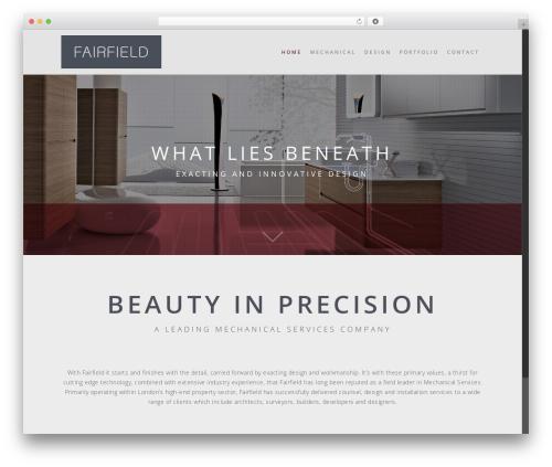WP template Salient - fairfieldplumbing.co.uk
