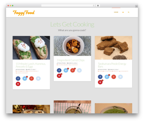 Free WordPress Social Share Buttons by Supsystic plugin - foggyfood.com