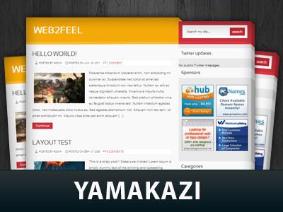 Yamakazi best WordPress template