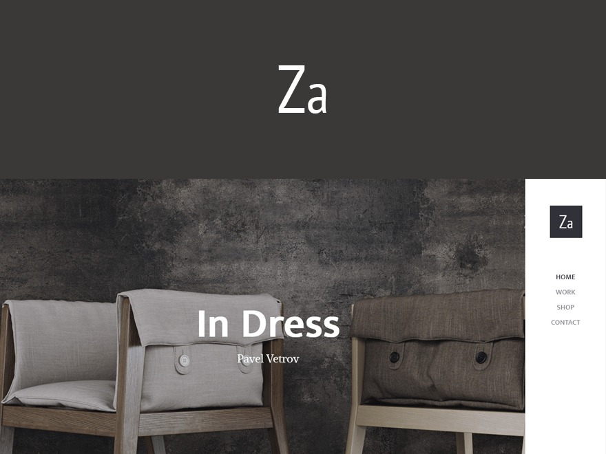 ZA WordPress gallery theme
