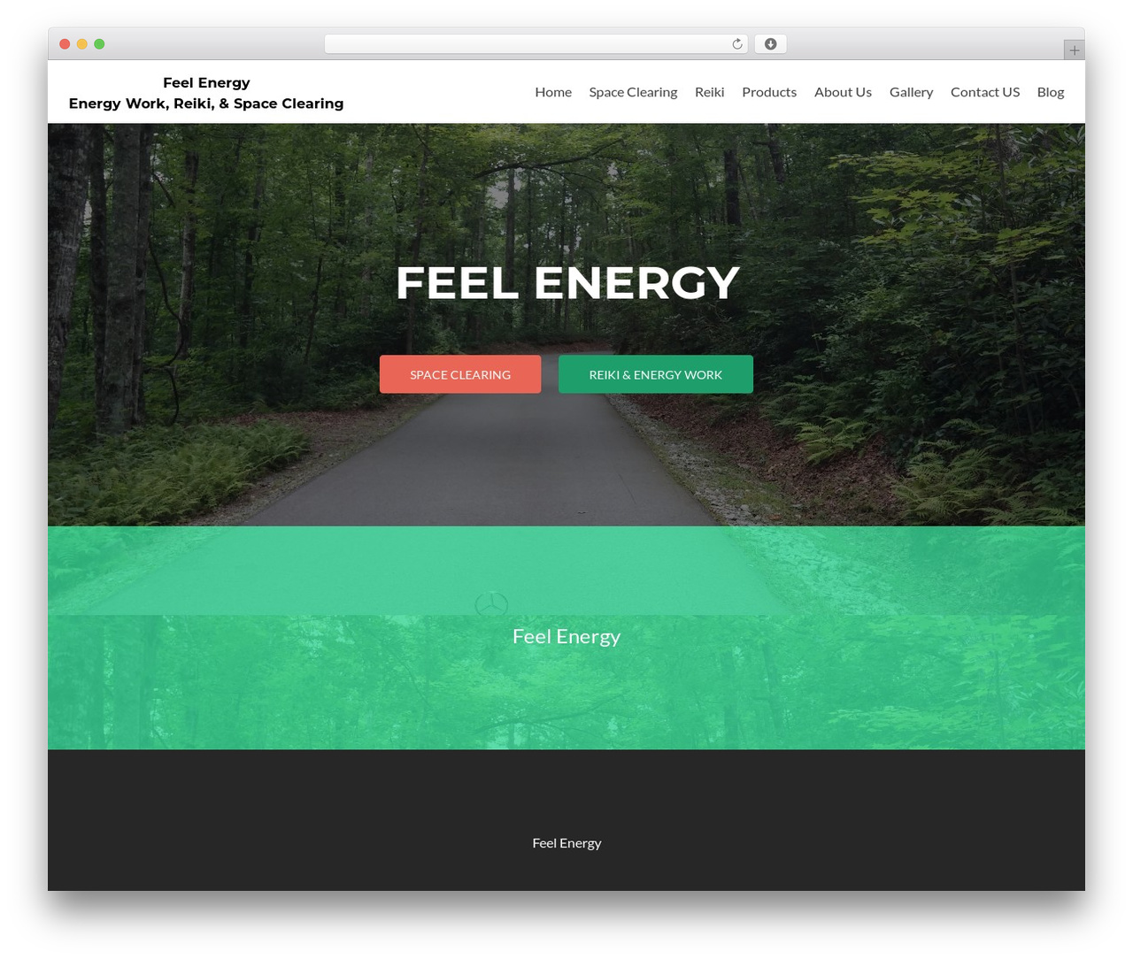 Zerif Lite theme WordPress - feelenergy.org