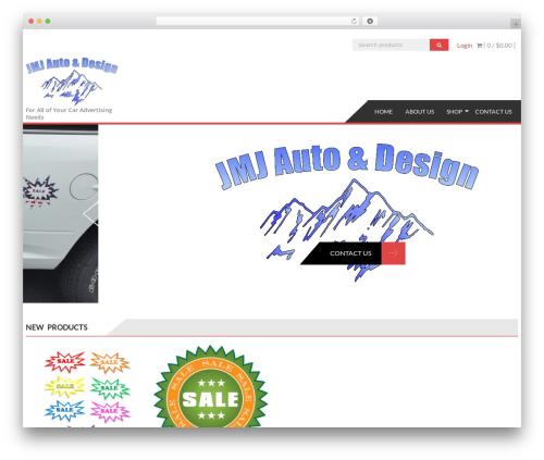 AccessPress Store template WordPress free - jmjautoanddesign.com