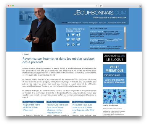 Free WordPress Twenty Eleven Theme Extensions plugin - jbourbonnais.com