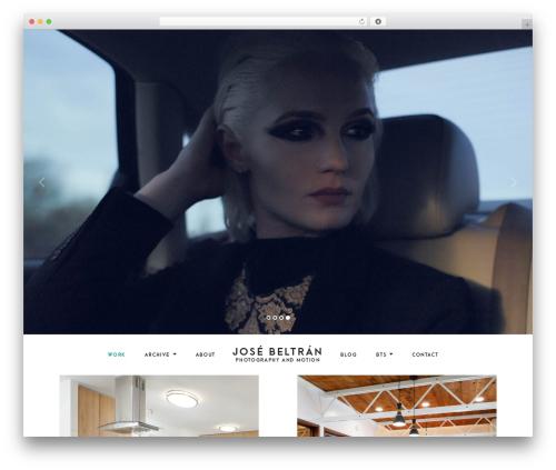 NOAH fashion WordPress theme - josestudios.com