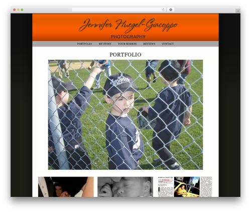 ProPhoto WordPress portfolio theme - jhphotoshoot.com