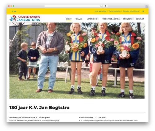 Arsim WordPress theme - janbogtstra.nl