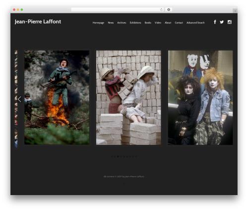Best WordPress theme base - jplaffont.com