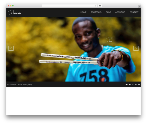 Focal WordPress theme - jphilipphoto.com