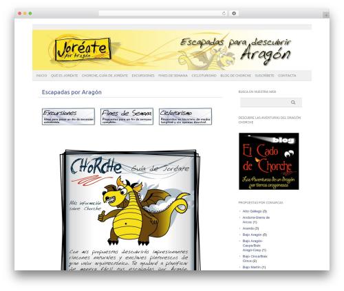 picolight WP theme - joreate.com