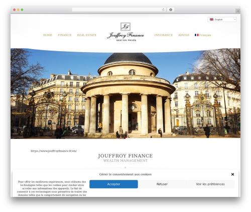 Princess WordPress page template - jouffroyfinance.fr