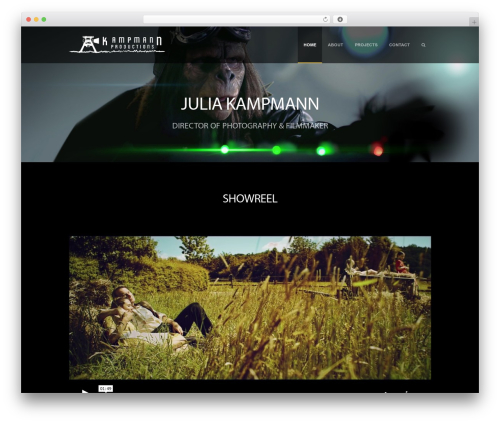Supernova - Multi-Purpose Theme WordPress theme - juliakampmann.com