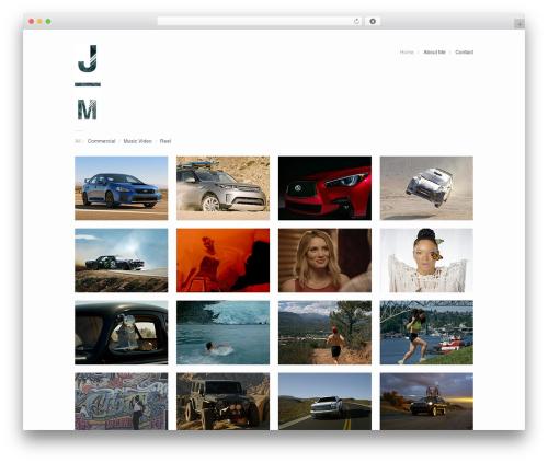 Theme WordPress Garnish - jerimiahmorey.com