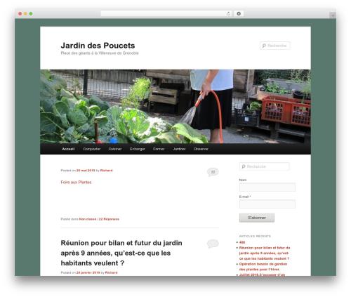 Twenty Eleven WordPress free download - jardindespoucets.org