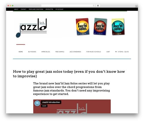 WordPress easy-slide-in plugin - jazzld.com