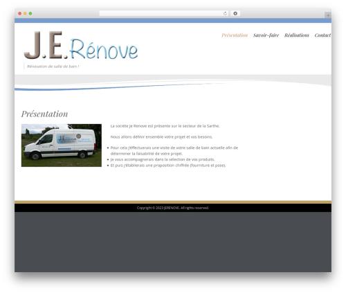 Longevity WP template - jerenovesarthe.com