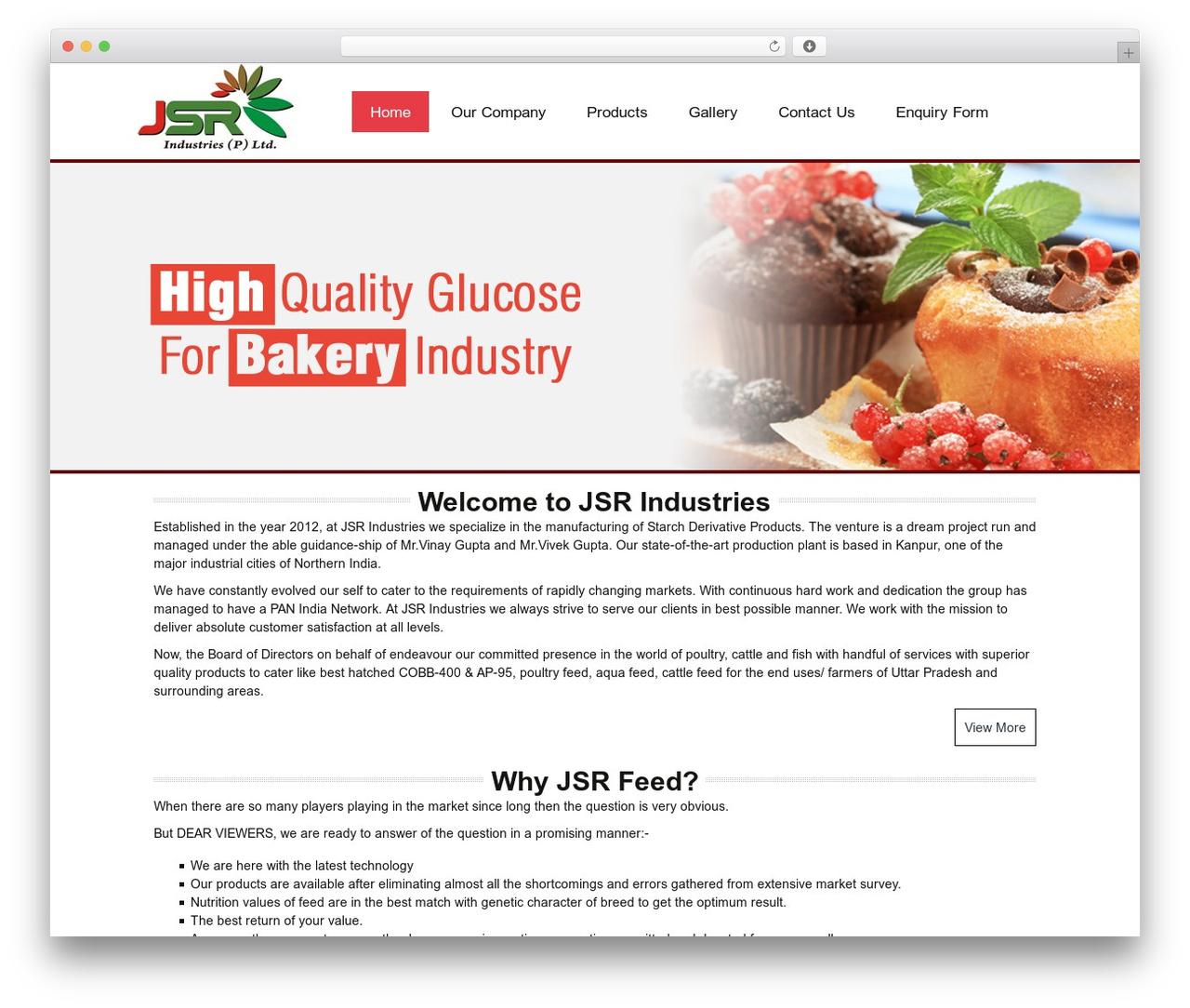 Twenty Thirteen WP theme - jsrindustries.co.in